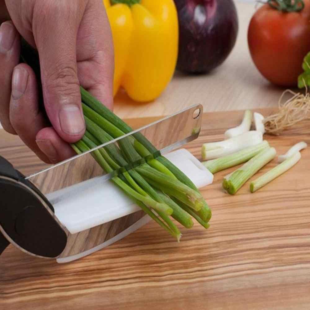 Tijeras de uso rudo, tijeras multifuncionales para cortar verduras, herramienta de cocina para patatas, carne, queso y verduras