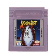 Cartucho de videojuegos para Nintendo GBC, tarjeta de consola Avenging Spirit, versión en inglés