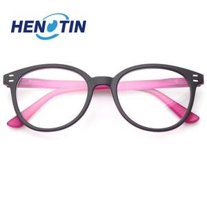Image 4 - Henotin男性と女性のファッションカジュアル老眼鏡オーバルフレームバネ蝶番デザイン老眼鏡視度 0.5 1.75 3.0 4.0...