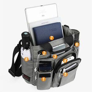 """Image 4 - Сумка на плечо для планшета ipad 7,9 """"9,7"""" 10,1 """" 12"""" 10,5 """" 12,9"""" air mini pro 2020 новые мужские сумки  мессенджеры для отдыха и путешествий черные сумки для ноутбука"""