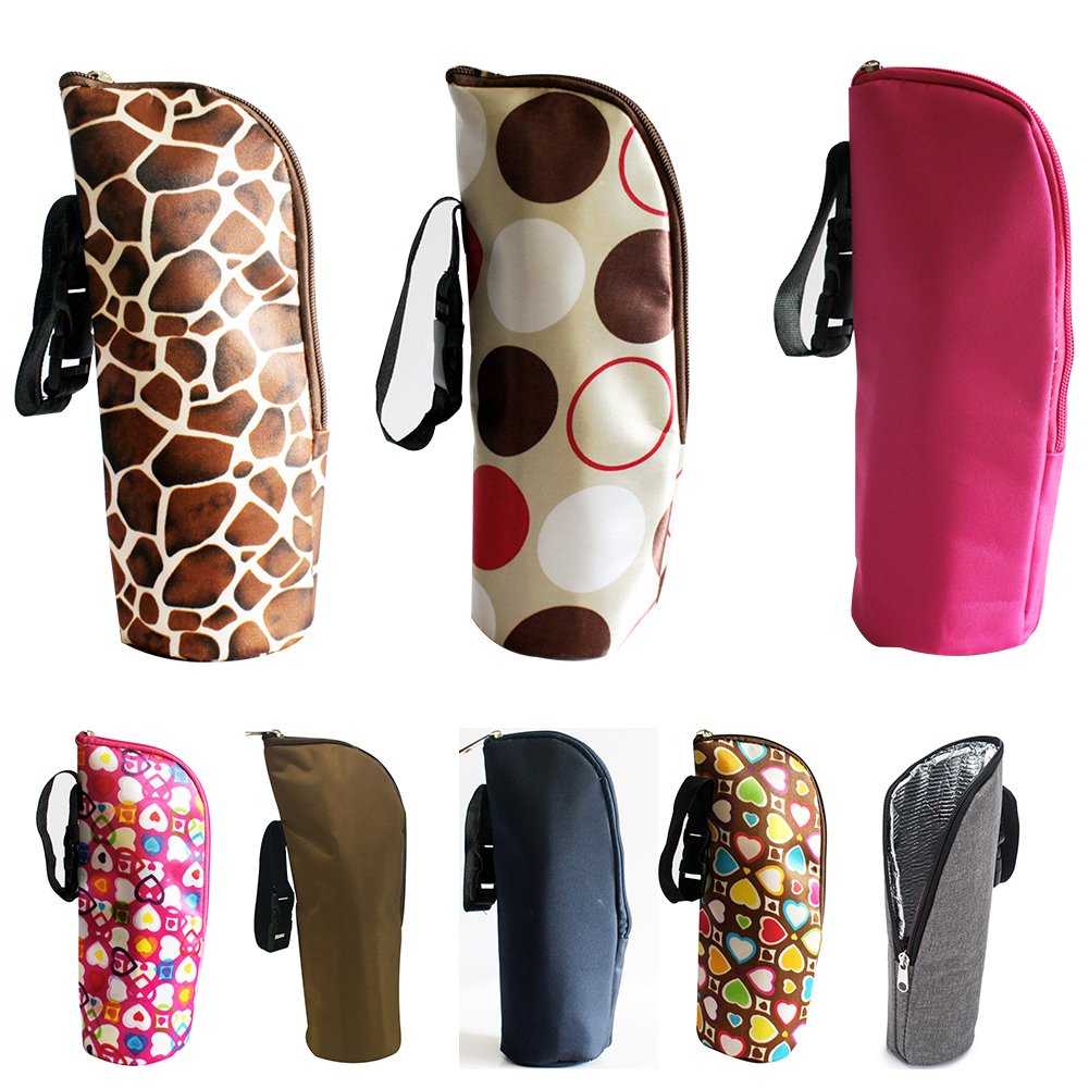 Travel Portable Feeding Milk Warmer Holder Insulation Baby Bottle Bag Pouch