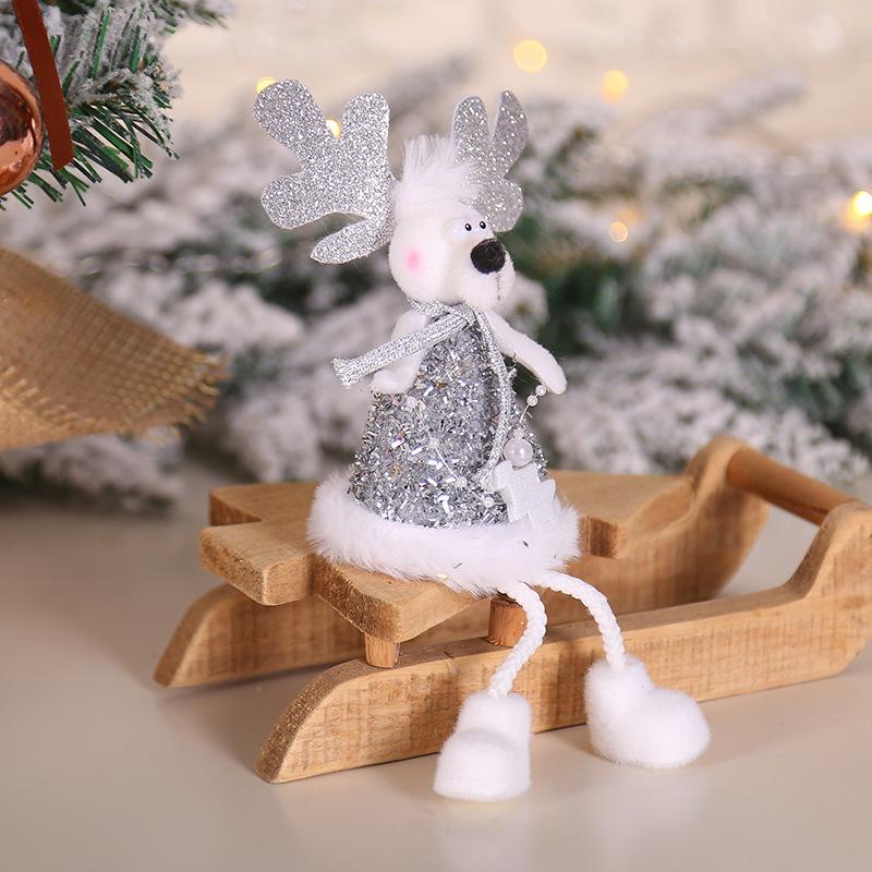 2020 New Year Gift Cute Christmas Angel Doll Xmas Tree Ornament Noel Deco Christmas Decoration for Home Natal Navidad 2019 Decor 47