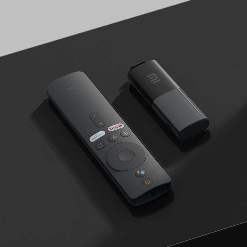 Xiaomi Mi TV-Stick 2K HDR HDMI Quad-Core DDR4 Bluetooth WiFi Dolby DTS HD Dual-Dekodierung Google-Assistent Netflix Android TV 9.0 Globale Version