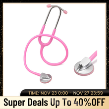 Lekarz stetoskop medyczny stetoskop dla kardiologii profesjonalny stetoskop pielęgniarka studencka sprzęt medyczny urządzenie