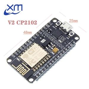 Image 1 - 10pcs CP2102 무선 모듈 NodeMcu v2 루아 와이파이 Nodemcu 와이파이 네트워크 개발 보드 기반 ESP8266, 고품질의 제품