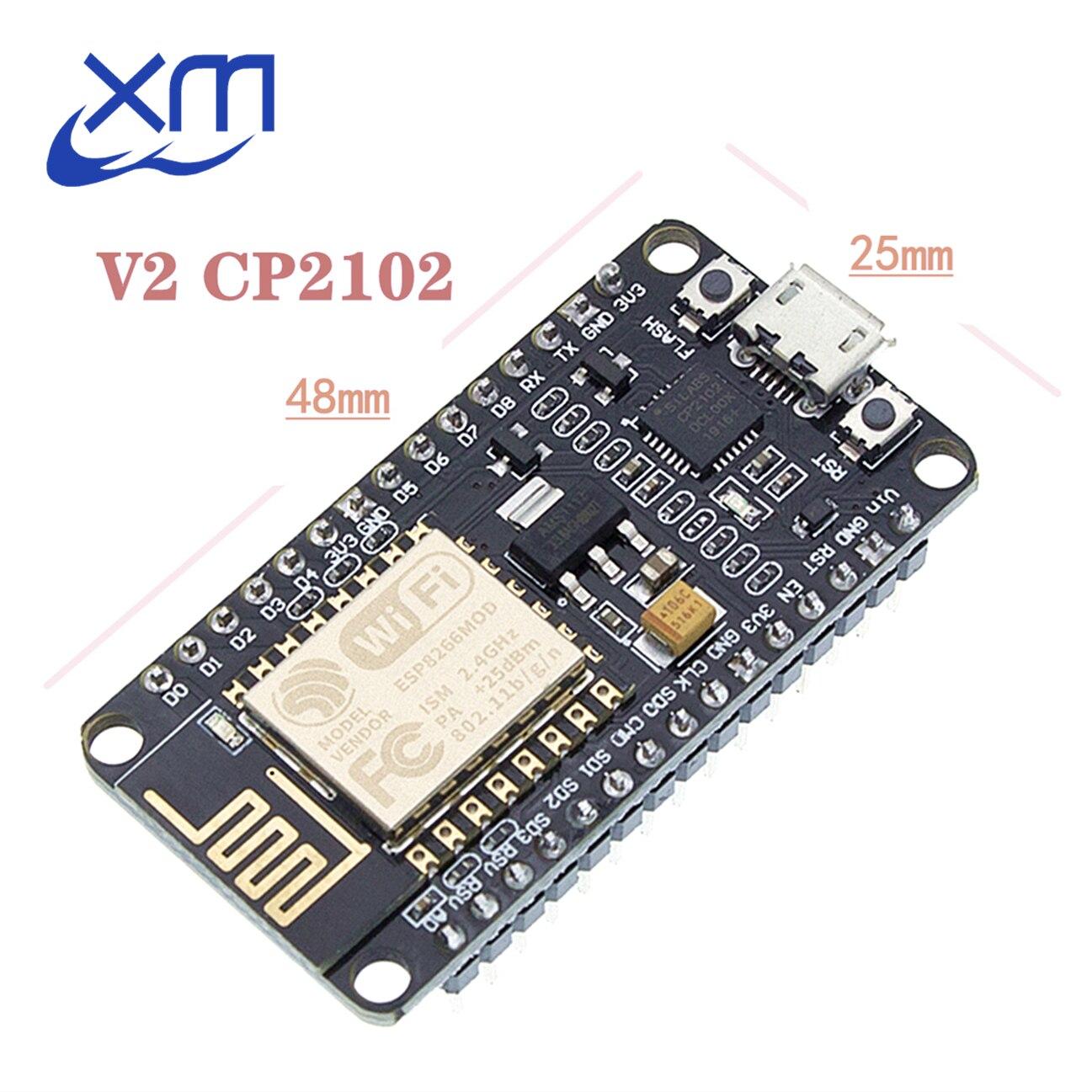 Беспроводной модуль NodeMcu v2 Lua, 10 шт., CP2102, Wi-Fi, плата разработки сети ESP8266, высококачественные продукты