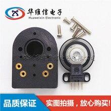 HE25 2 encodeur rotatif incrémental sans arbre Simple fendu 100 ligne 200 ligne