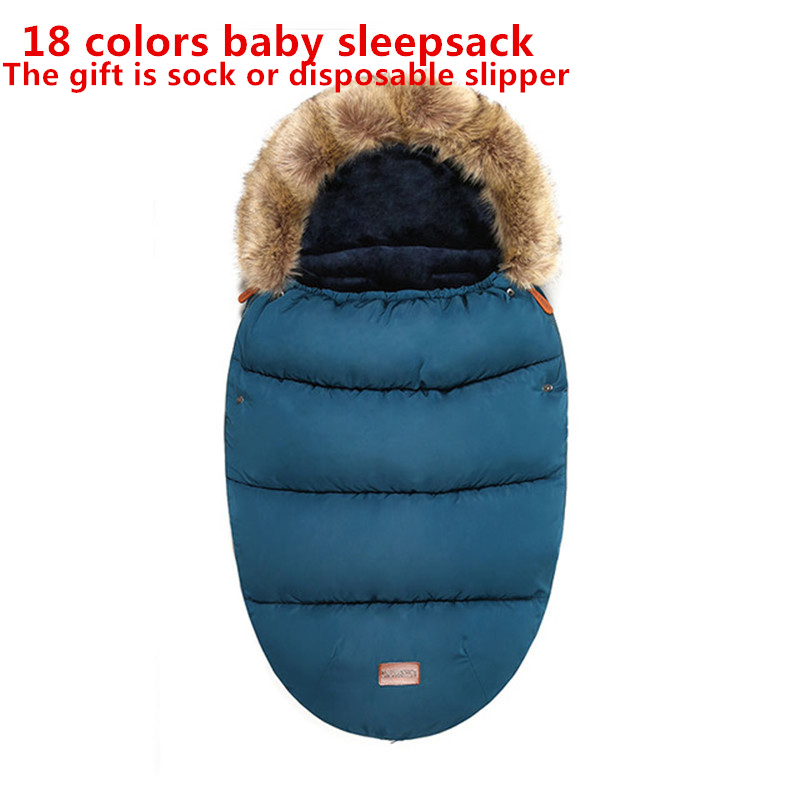 Newborn Warm Sleepsacks Envelope Sleepsacks Winter Baby Stroller Sleeping Bag Thicken Warm Infant Stroller Footmuff Wheelchair