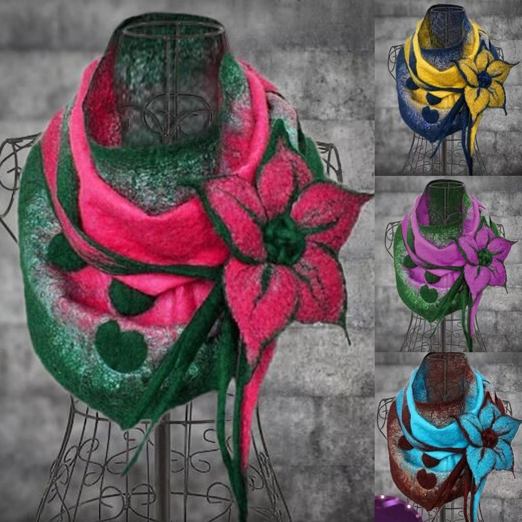 Scarf For Women Fashion Women Printing Flower Soft Wrap Casual Warm Scarves Shawls шарф женский Scarf For Women 2020 New Scarf