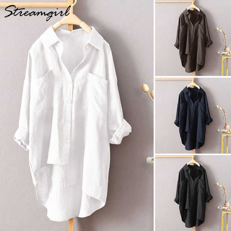 Loose Fit Top Womens Linen Top White Top Natural Flax Top Womens Summer Beach Oversized Top Plus Size Top