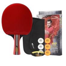 Rackets Grip Table-Tennis Professional Training Horizontal-Grip Anti-Slip Six-Star