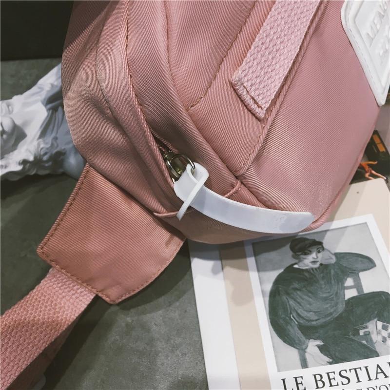 Waist Bag Women Fanny Packs Belt Bag Luxury Brand Nylon Chest Handbag 5 Colors 2018 New Fashion Hight Quality Waist Bag in Waist Packs from Luggage Bags