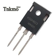 10 sztuk IKW50N60H3 TO 247 K50H603 IGW50N60H3 G50H603 TO247 50A 600V tranzystor IGBT darmowa dostawa