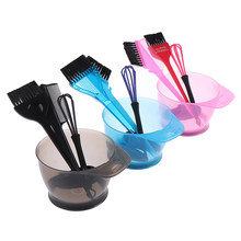 1 zestaw farba do włosów mikser kolorów fryzura fryzjerstwo stylizacja Accessorie Brush zestaw misek z nakładkami na uszy barwnik