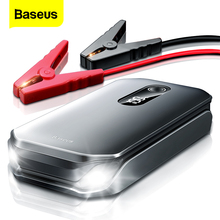 Baseus Portable Car Jump Starter Device Power Bank Emergency 12000mAh High Power 12V Car Battery Booster Auto Starting Device