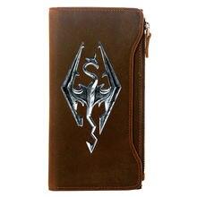 Лидер продаж бумажник из натуральной кожи с принтом игры the