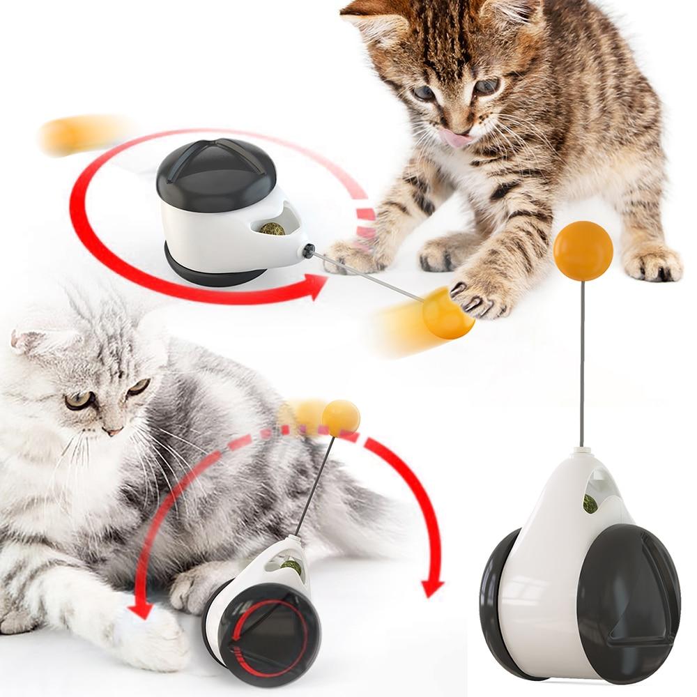 Неваляшка качели игрушки для кошек котенок интерактивный баланс автомобиль кошка чеканка игрушка с кошачьей кошечкой забавные продукты для домашних животных дропшиппинг|Игрушки для кошек|   | АлиЭкспресс - Товары из ТикТока, которые нужны каждому