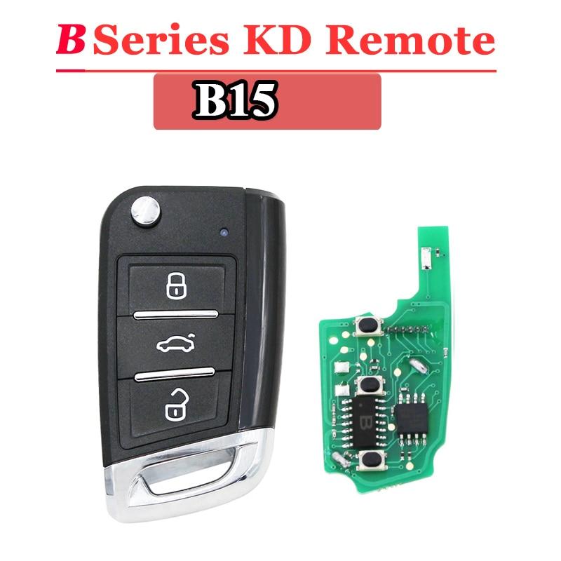 Free Shipping (1 Piece)KEYDIY B15 Kd Remote 3 Button B Series  Remote Key For URG200/KD900/KD200 Machine
