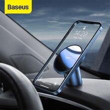 Baseus-tablero magnético de montaje de teléfono de coche, soporte de teléfono de navegación, salidas de aire, rejillas de ventilación magnéticas, soporte de teléfono