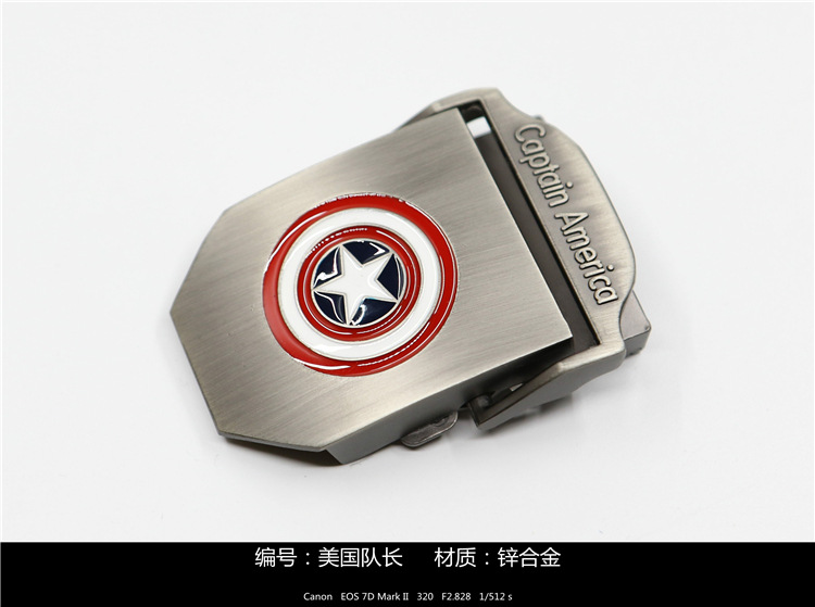 Spider Man Belt Buckle Men/'s Collectible Metal Alloy Avengers Marvel Fans Gift