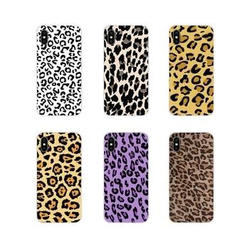 Para Motorola Moto X4 E4 E5 G5 G5S G6 Z Z2 Z3 G G2 G3 C Play Plus, accesorios, carcasas para teléfono, Tigre, leopardo, estampado de pantera