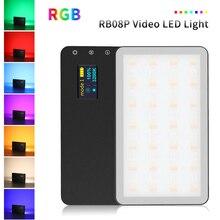 VILTROX Weeylife RB08 RB08P RGB 2500 K-8500 K мини-видео светодиодный светильник заполняющий светильник встроенный Аккумулятор для камеры телефона съемки студии