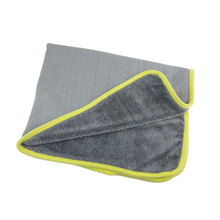 600GSM70*55CM Thick Absorbent Twisting Cloth Braid Cloth Large Car Cleaning Car Wash Towel Lint Free Cleaning Cloth Floor Rag