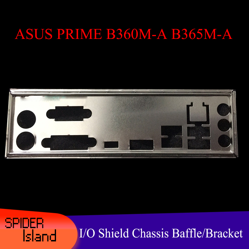 Origina IO I//O Shield Back Plate Bracket for ASUS ROG STRIX B350-F GAMING RE