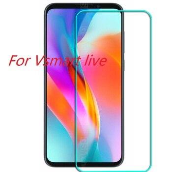 Перейти на Алиэкспресс и купить Для V smart Live Glass для Vsmart live 2.5D 9H Премиум Защитная пленка из закаленного стекла