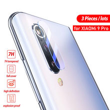 BoeYink 3Pcs Camera Lens Tempered Glass For Xiaomi Mi 9 Pro 5G Mi 9 Back Camera Screen Protector For Xiaomi Mi 8 Lite Mi 8 SE(China)