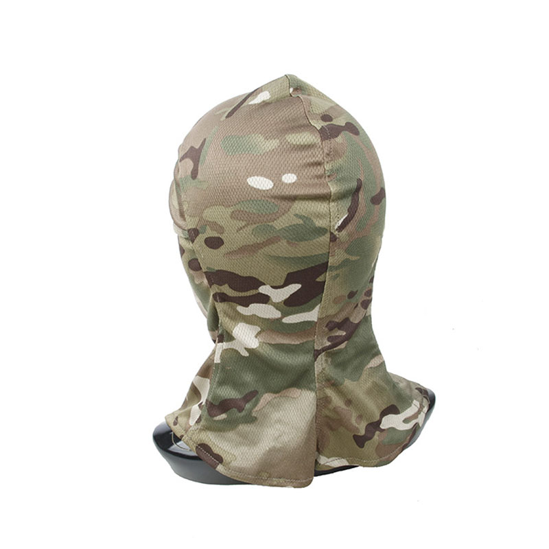 He5dfcb1a4a164798bf63fe40a8ab1fb1e TMC3267 CS Tactical Camo Head Cover Metal Mesh Balaclava Full FaceMask Sunscreen Dust-proof Full-wrapped Headscarf Free Shipping