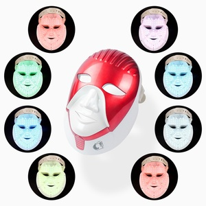Image 5 - iebilif Rechargeable 7 Colors Led Mask For Skin Care Led Facial Mask With Neck Egypt Style Photon Therapy Face Beauty