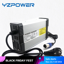 YZPOWER 58.4V 8A Aluminum LifePO4 Battery Charger for 48V Ebike Scooter Bicycle