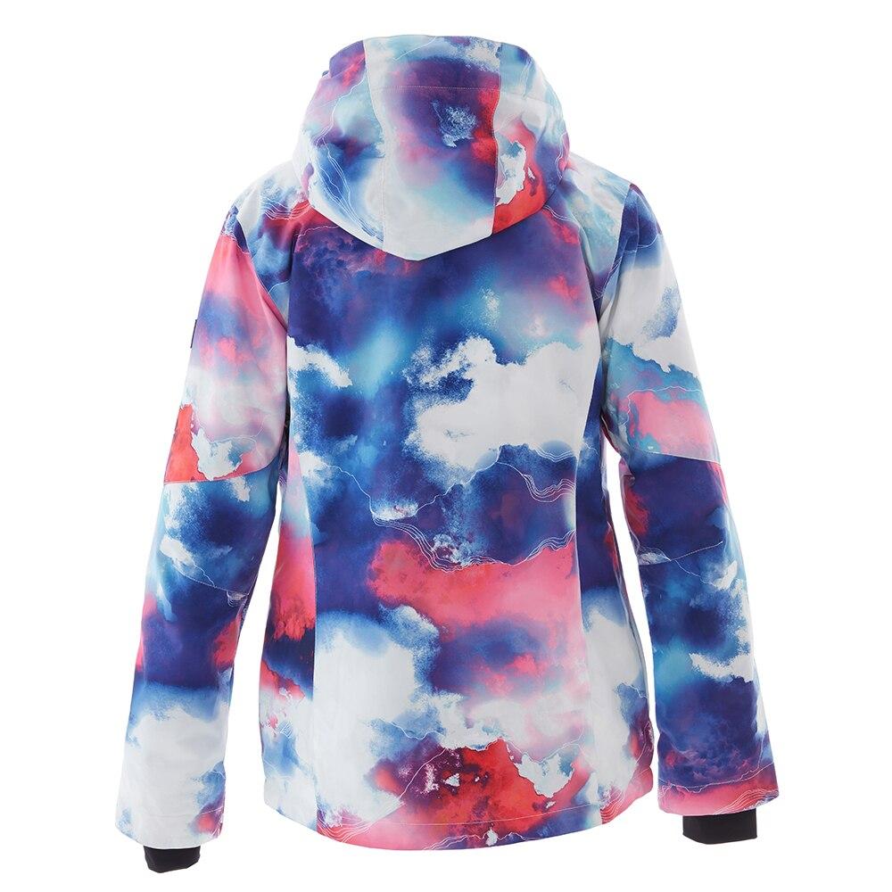 SIMAINING femmes hiver veste de Ski chaude Ski snowboard veste manteau de neige coupe-vent imperméable Sport de plein air vêtements - 6