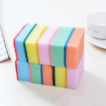 1 10 sztuk detergentu gąbki do mycia narzędzia kuchenne i łazienkowe gąbki gumka do czyszczenia gąbki do mycia akcesoria do czyszczenia kuchni tanie i dobre opinie CN (pochodzenie) Sponges Ekologiczne KİTCHEN cleaning sponge kitchen dish washing sponge Mixed 7cm * 10cm * 3cm 2 76 x 3 94 x 1 18