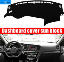 цена на Dashboard Cover Sun Shade Non-slip Dash Mat Pad Carpet Car Stickers Accessories For KIA Optima TF 2010 2011 2012 2013- 2015 K5