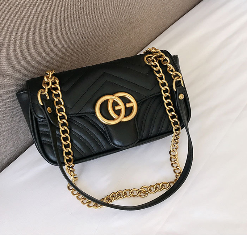 RURU monkey Bag For Women Fashion Covered type Single Shoulder Vertical Chain Bag Linger PU Material Lady's Slant Bag|Top-Handle Bags| - AliExpress