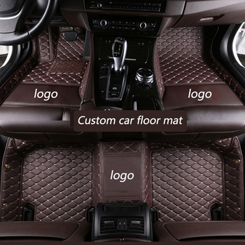 kalaisike Custom car floor mats for Dodge all models journey Journey ram aittitude caravan caliber auto styling car accessories