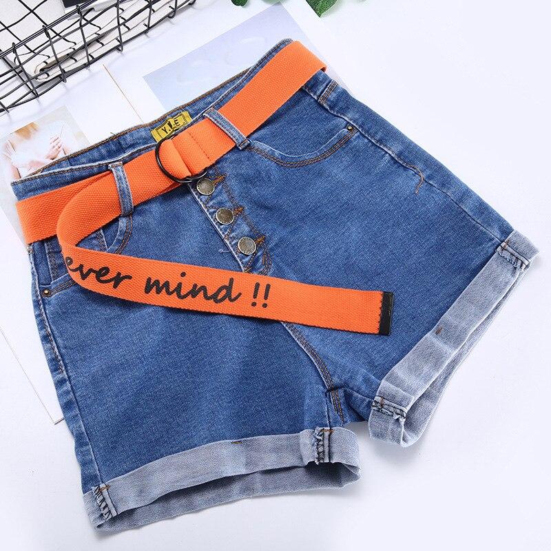 TagerWilen ремень стиль буквы напечатаны мода унисекс двойное D Кольцо холст ремень длинные джинсы ремни для женщин брезентовый мужской ремень - Цвет: Never-Orange