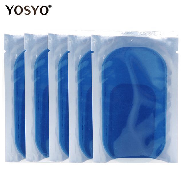 15/30/50/100Pair Replacement Gel Pads For EMS Trainer Weight Loss Abdominal Muscle Stimulator Exerciser Replacement Massage Gel 5