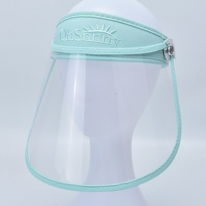Image 4 - Anti Droplet Dust proof Full Face Cover Mouth Mask Protective High quality Visor Shield Droplet Face Shield Washable Transparent