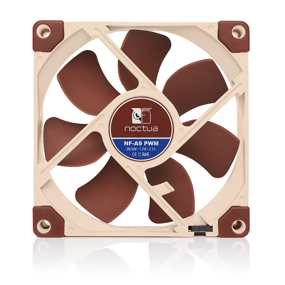 Noctua NF-A9 High Quality 92mm Computer Case Cooling Fan 5V/12V And 3PIN/4PIN PWM Quiet CPU Cooler Radiator Fan