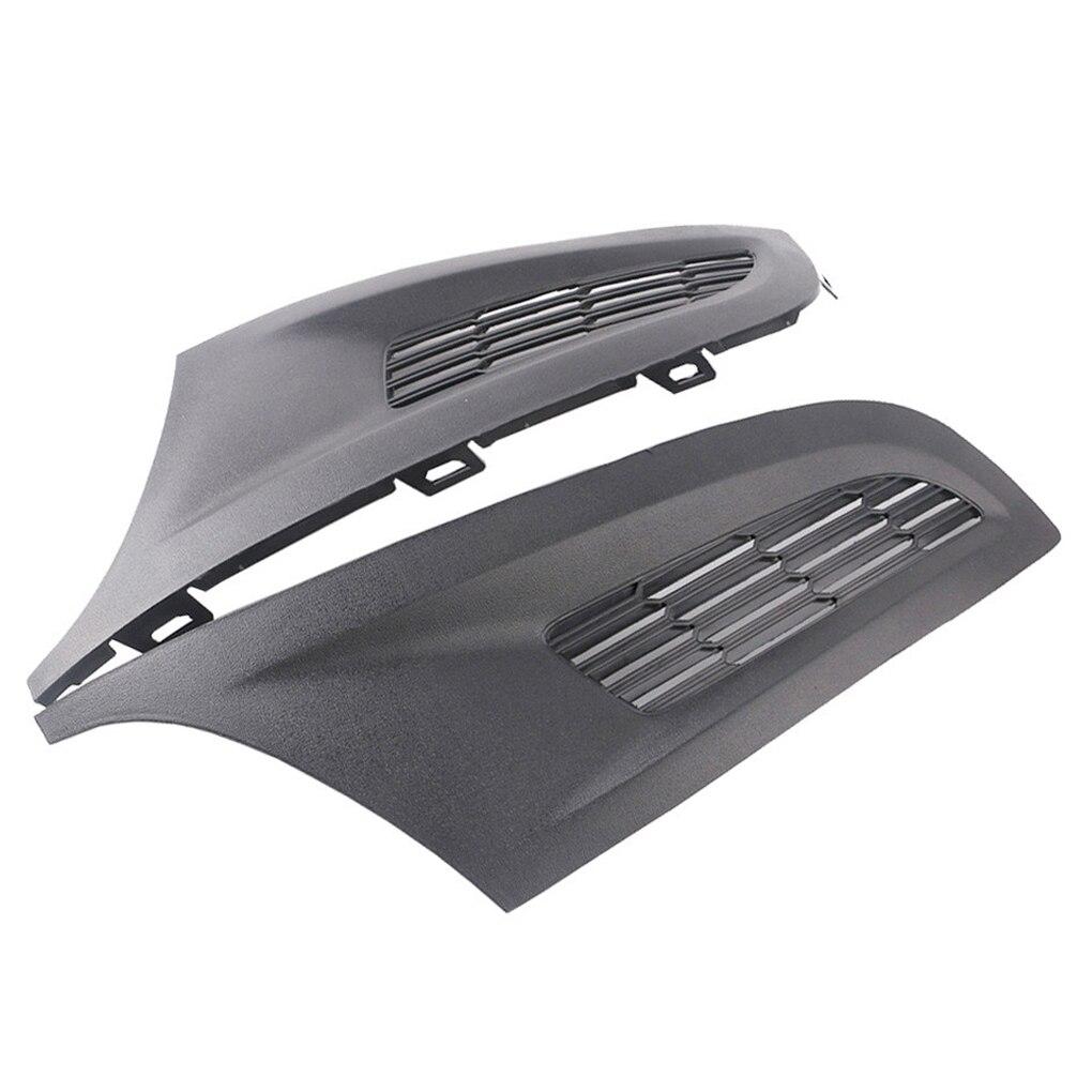 Передняя и нижняя бампера для автомобиля, 1 пара, передняя, без отверстия, замена 6R0853666C/6R0853665C для Polo 10-12