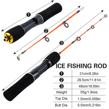 Best No1 Fishing Rod Winter Super Short Fishing Rods cb5feb1b7314637725a2e7: Burgundy|Green|Light Grey|Purple|Red|White|Yellow