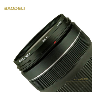Image 5 - BAODELI Star Filter 49 52 55 58 62 67 72 77 82 Mm For Camera Lens Canon Eos M50 T5 T6 77 2000 D Nikon 3500 7500 Sony Accessories