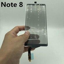 フロントタッチガラス偏光子サムスン注 8 N950 lcd ディスプレイスクリーンパネルの交換修理