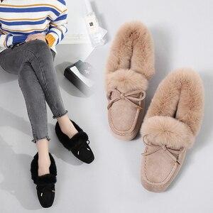 Image 1 - Giày Nữ Mùa Đông 2019 Thương Hiệu Thiết Kế Giày Oxford Cho Nữ Cho Nữ Khóa Bãi Xanh Đen Nữ Cuộn Trứng Mềm Mại Ba Lê giày