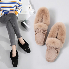 Shoes Woman 2019 Winter Brand Designer Oxford Shoes Loafers For Women Buckle Flats Black Green Female Roll Egg Soft Ballet Shoes