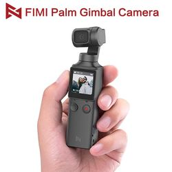 Fimi Palm Camera 3-Axis 4k Handheld Pocket Gimbal Camera Stabilizer 128° wide angle smart range built-in wifi control