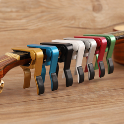 Hot High Quality New Aluminium Alloy Quick Change Clamp Key Clip Acoustic Classic Electric Guitar Capo For Tone Adjusting